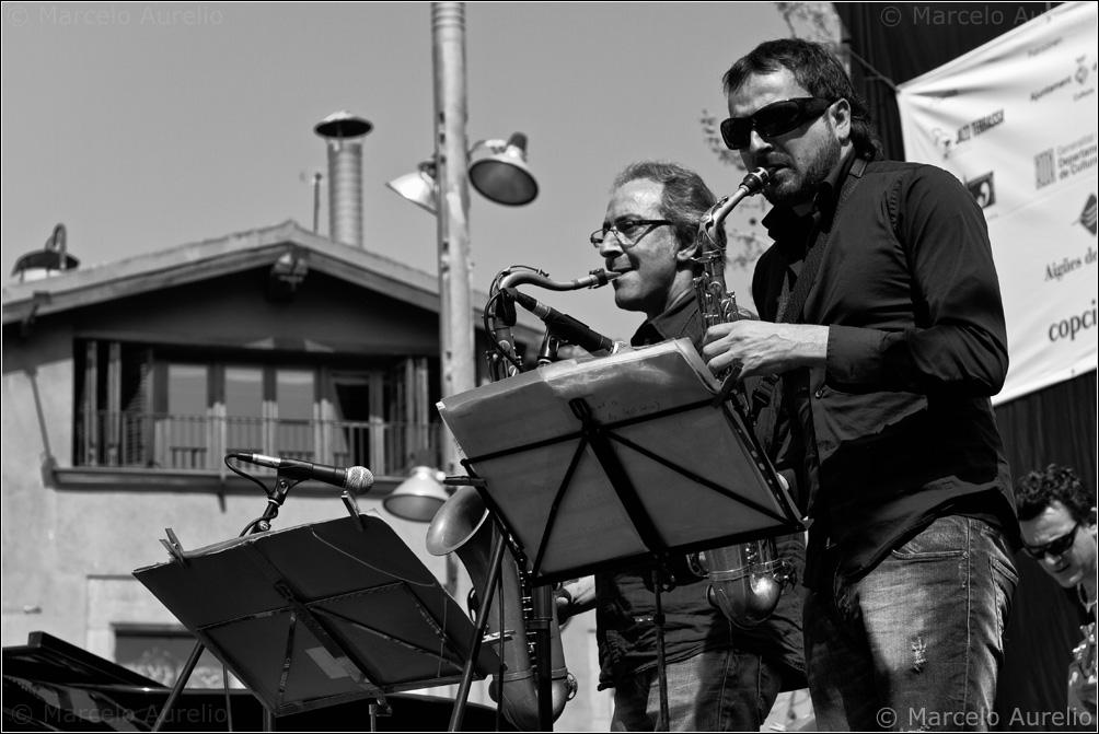 Afro Blue - Xavier Figuerola y Guim G Balasch – 30º Festival de Jazz de Terrassa