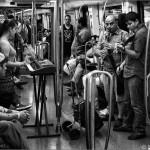 Músicos en el metro - Barcelona