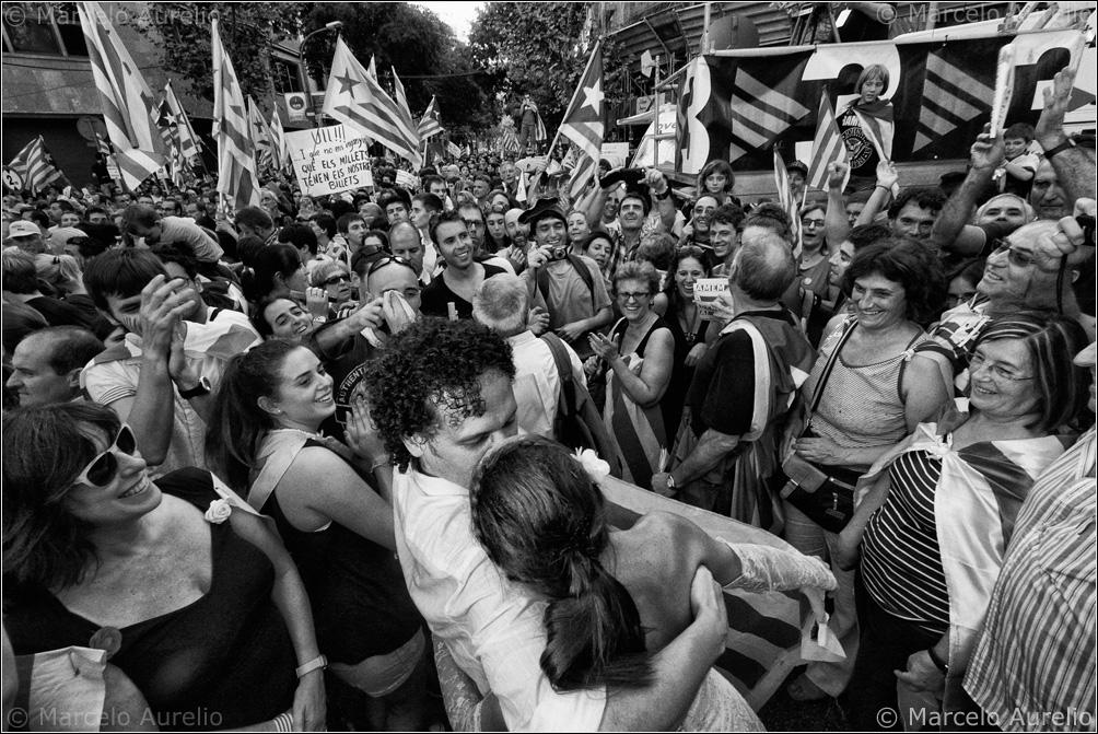 Ana y Tito – Independència. Sí, vull. - II -11/09/2012 - Barcelona