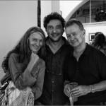 """Eva Huarte, Marco Ansaloni y Paco Elvira. - Inauguración de """"SINCERELY YOURS,"""" - Valid Foto BCN - Barcelona"""