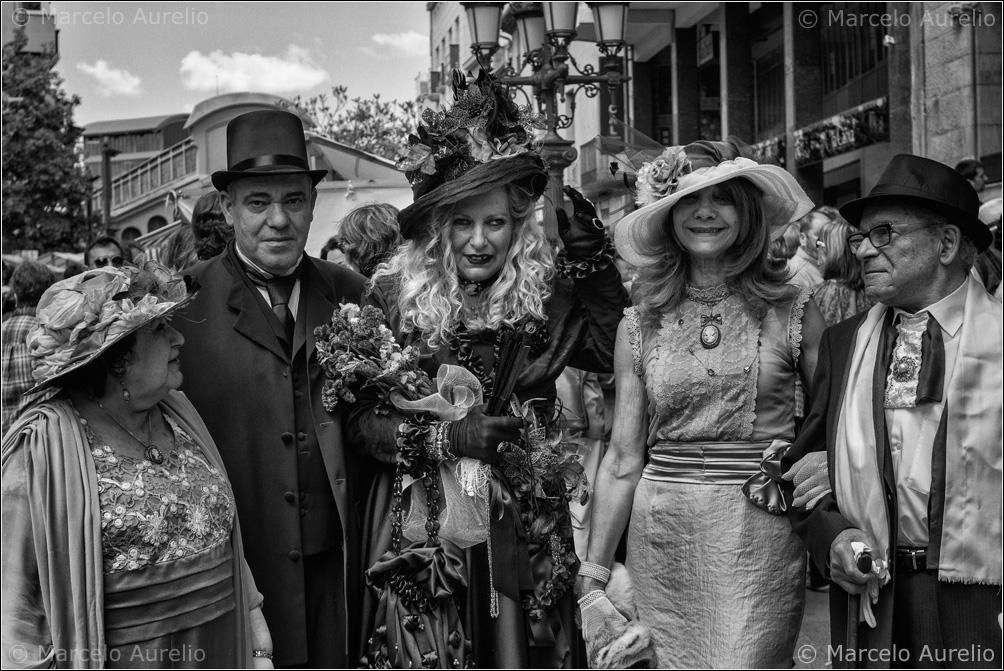 Los invitados a la boda - Fira Modernista de Terrassa 2013 – Terrassa, Barcelona.