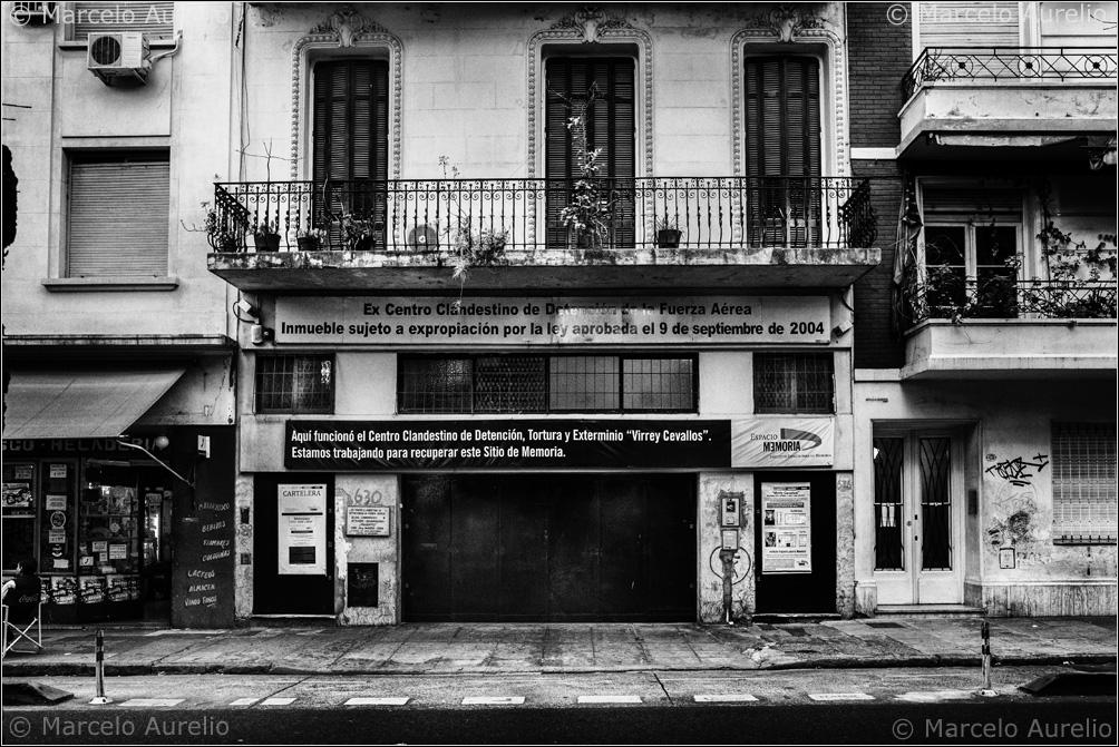 Ex-Centro Clandestino de Detención, Tortura y Exterminio Virrey Cevallos. Buenos Aires, 2013.  © Marcelo Aurelio