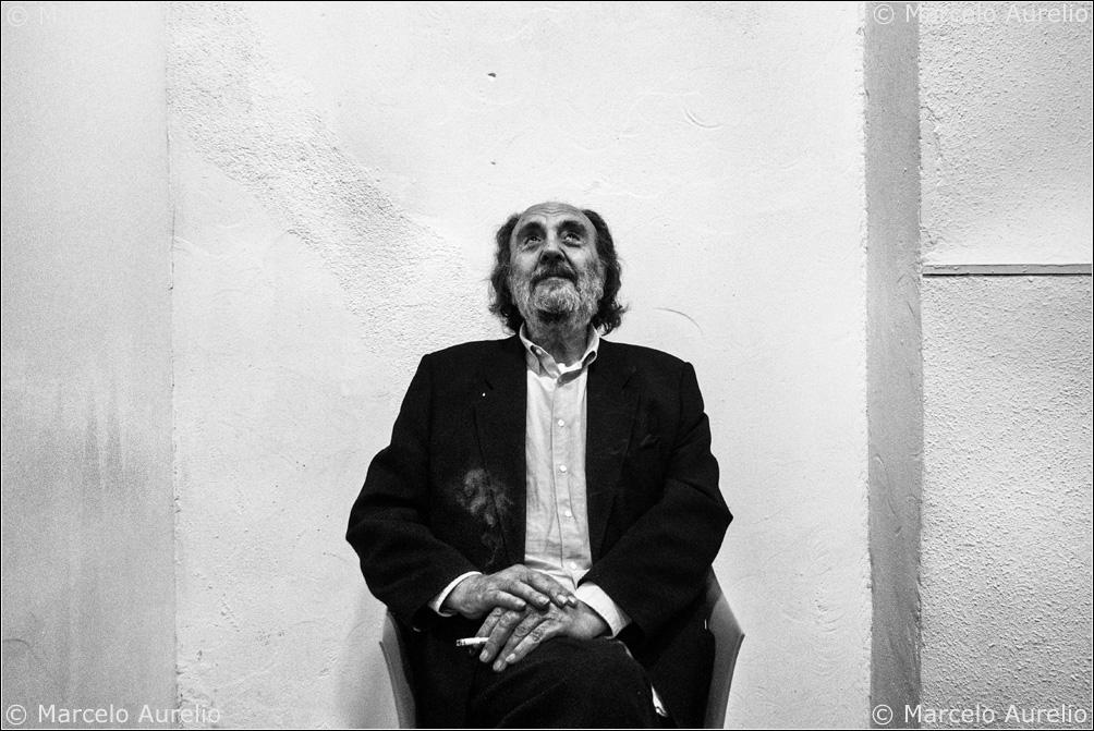 Leopoldo Pomés. Barcelona, 2013. © Marcelo Aurelio