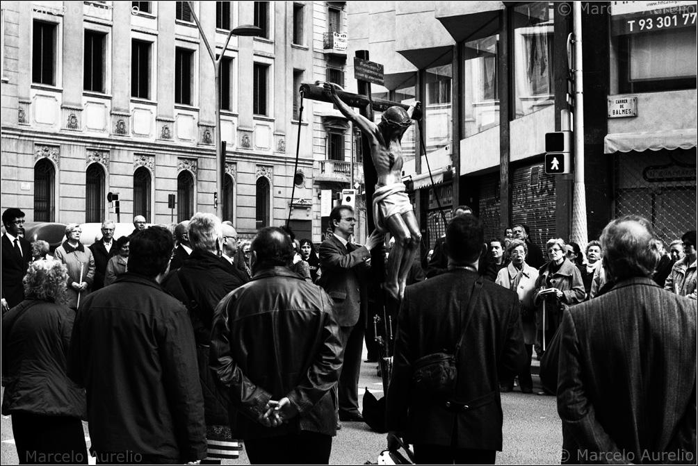 Semana Santa. Barcelona. 2013. © Marcelo Aurelio