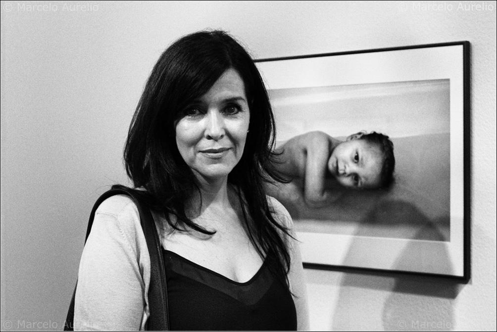 Darcy Padilla en su exposición