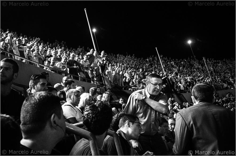 Camp Nou, Barcelona, 2013. © Marcelo Aurelio