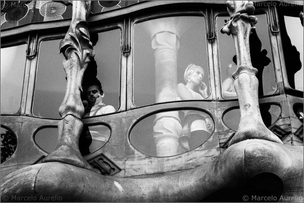 Casa Batlló. Barcelona, 2014. © Marcelo Aurelio