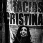 Gracias Cristina.  Buenos Aires, 2014. © Marcelo Aurelio