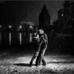 Aunque siga cayendo la nieve... Tango en Passau, 2015. © Marcelo Aurelio