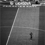 El último partido. Xavi Hernández en su último partido de Liga con el Barça.  Barcelona, 2015. #6raciesXavi © Marcelo Aurelio