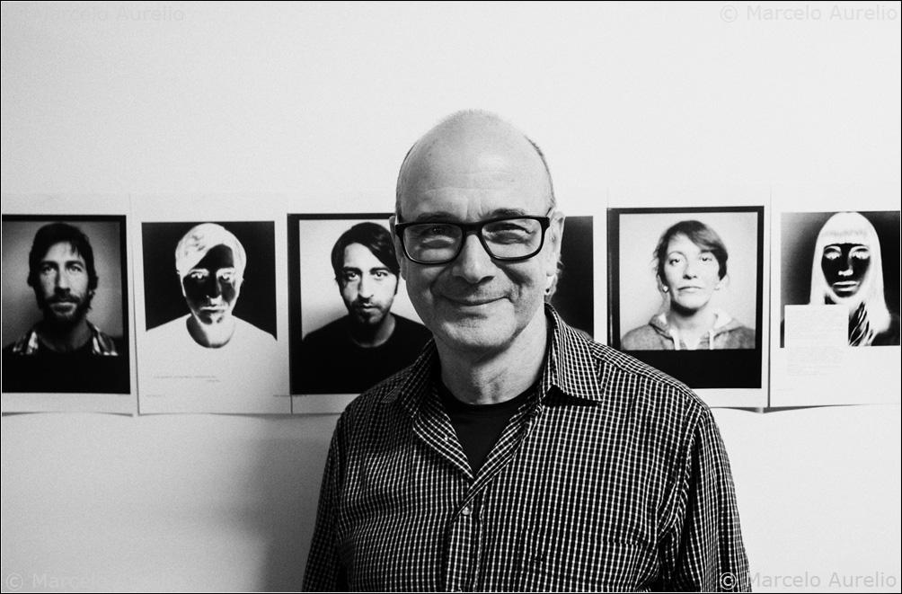 """Faustí Llucià. Presentación libro 15"""" en Galería Valid Foto BCN. Barcelona, 2016. © Marcelo Aurelio"""