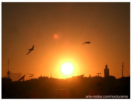 Atardece en Casablanca, Marruecos