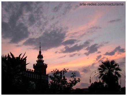 Atardecer-  Parc de la Ciutadella - Barcelona