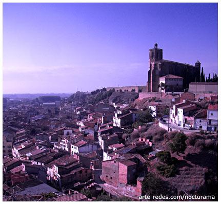 Balaguer desde el Castell Formós - Lleida - Catalunya