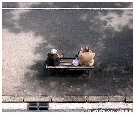 Conversación - Avenida Diagonal - Barcelona