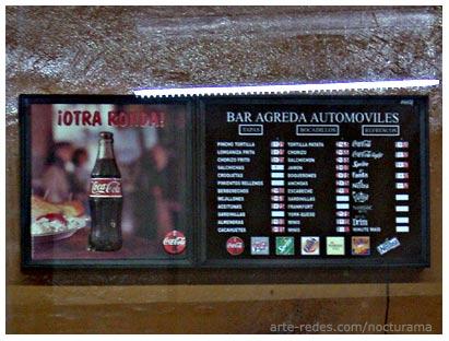 bar en una terminal de autobuses en Zaragoza