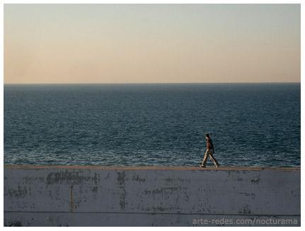 en el puerto de Tanger