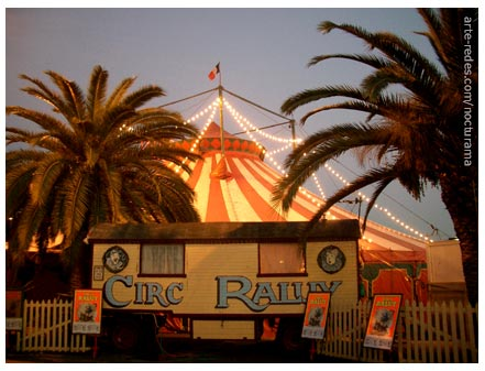 Circo Raluy en Port Vell, Barcelona