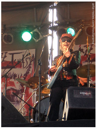 Debbie Davies Blues Band en el picnic Jazz de Terrassa