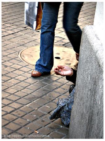 En la calle. Barcelona
