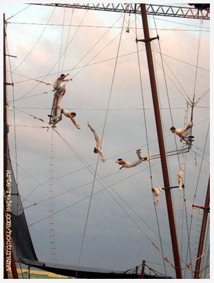 Gigante de los siete mares, Forum, Barcelona
