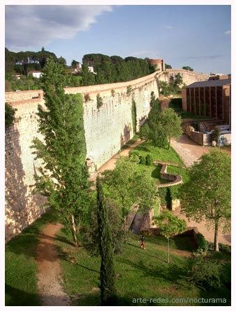 muralla medieval de Girona