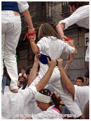 fiesta en Gracia, Barcelona