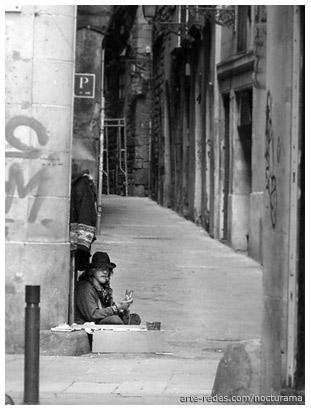por el gótico. Barcelona