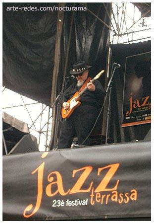 Bryan Lee & His Blues Band en el Parc Vallparadís, Terrassa, Barcelona.