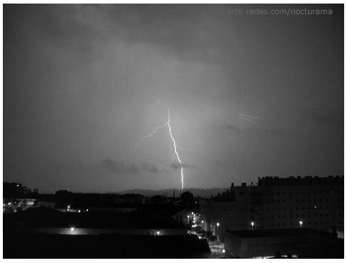 tormenta en Terrassa, Barcelona