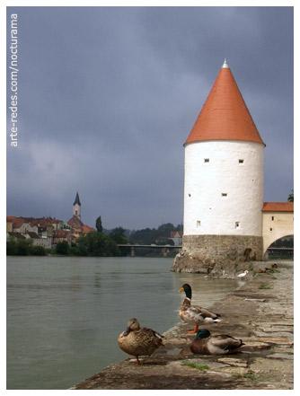 Torre de Schaibling, Passau, Alemania