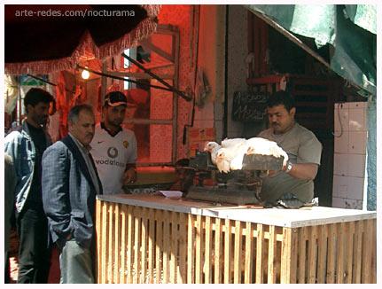 Mercado en Casablanca. Marruecos