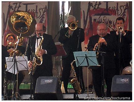 La Porteña Jazz Band en el picnic jazz del Festival de Jazz de Terrassa