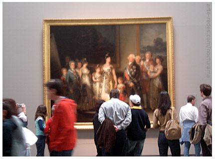 La Familia de Carlos IV, Francisco José de Goya y Lucientes, Museo del Prado, Madrid