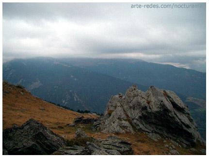 subiendo al Puigmal, Pirineos