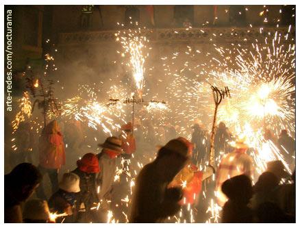 Raval infernal en la Fiesta Mayor de Terrassa 2005