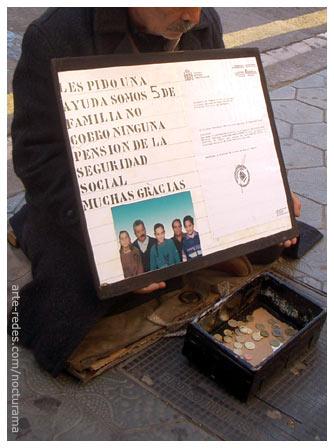 frente a la Pedrera. Barcelona