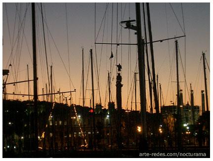 Tierra.. Tierra a la vista.. Port Vell. Paseo Marítimo. Barcelona
