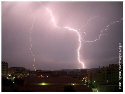 Hoy, tormenta en Terrassa, Barcelona