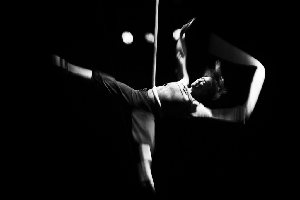 Amanda Wilson. Compañía de circo LapOeT. Vilanova i la Geltrú. Barcelona. © Marcelo Aurelio